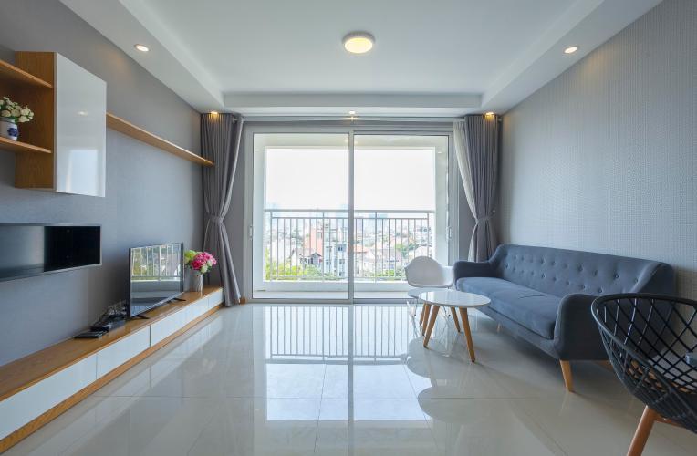 Phòng Khách Căn hộ Tropic Garden 3 phòng ngủ tầng thấp A1 nội thất đầy đủ