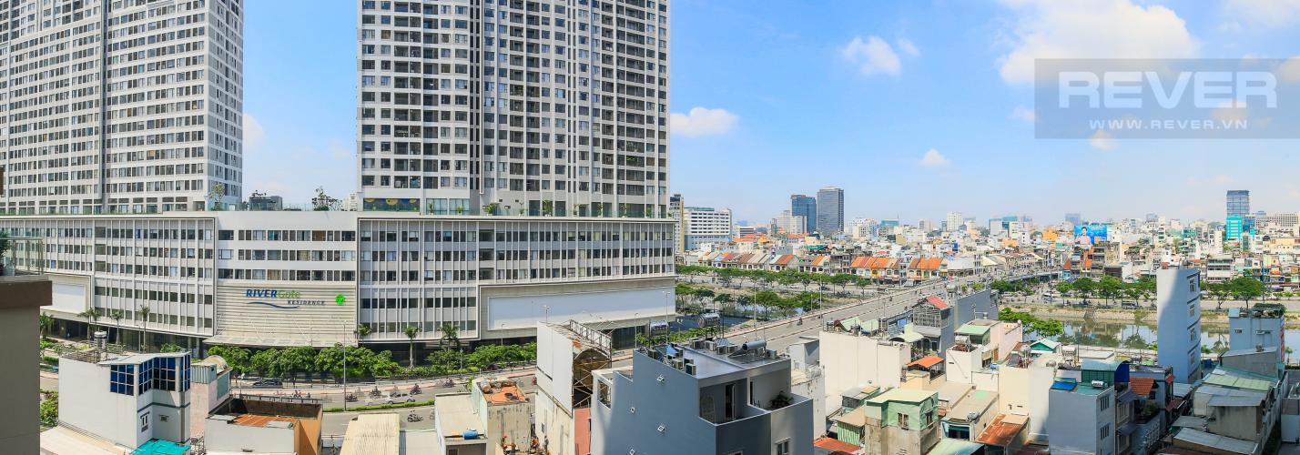 View Cho thuê căn hộ Masteri Millennium tầng trung, 2PN, đầy đủ nội thất