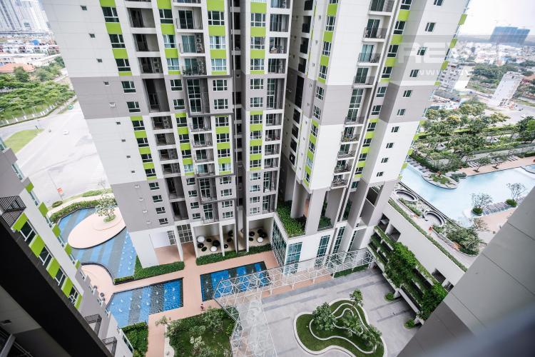 View Căn hộ Vista Verde 2 phòng ngủ tầng trung tháp Orchid nhà trống