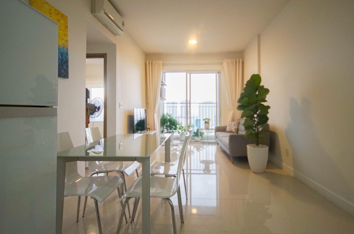 5 Cho thuê căn hộ 2 phòng ngủ Galaxy 9, tầng cao, đầy đủ nội thất, view thành phố thoáng rộng