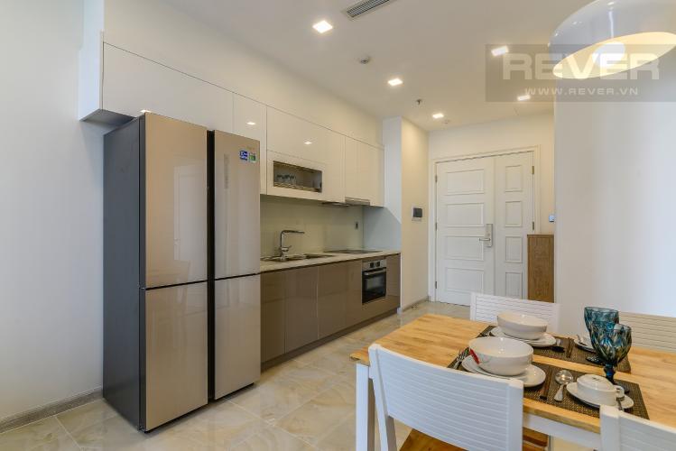 Bếp Cho thuê căn hộ Vinhomes Golden River tầng cao 1PN đầy đủ nội thất