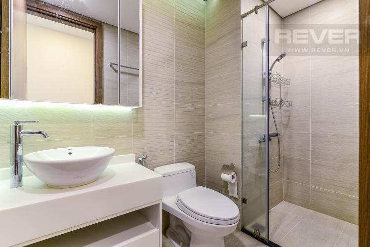 Phòng Tắm Căn hộ Vinhomes Central Park tầng trung, 1PN, đầy đủ nội thất, view sông
