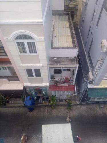 Bán nhà mặt tiền đường số 6, Quận 4, diện tích sử dụng 60m2, 1 trệt 1 lửng 2 lầu, sổ hồng, cách đường Vĩnh Hội 70m