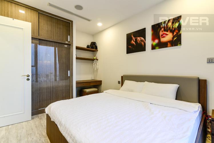 Phòng Ngủ Căn hộ Vinhomes Golden River tầng cao, tháp The Aqua 1, 1PN, đầy đủ nội thất