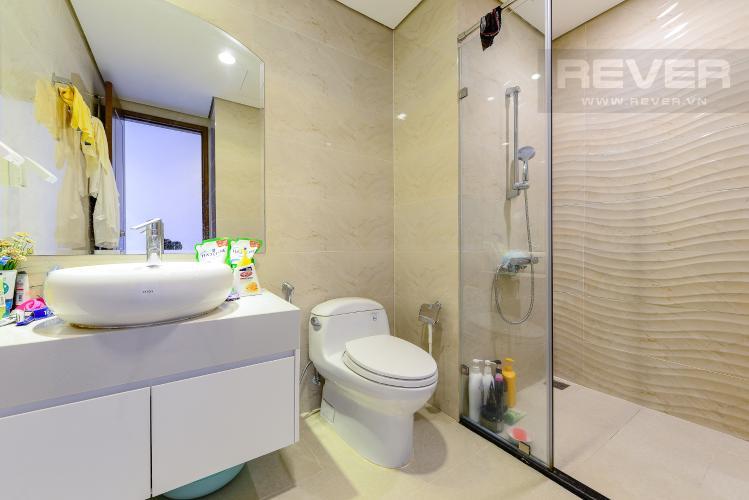 Phòng tắm 1 Căn hộ Vinhomes Central Park tầng trung C1 thiết kế đẹp, sang trọng