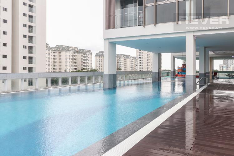 Hồ Bơi Bán căn hộ Phú Mỹ Hưng Midtown 4PN, tầng thấp, tháp The Grande, nội thất cơ bản, view sông và vườn hoa Sakura