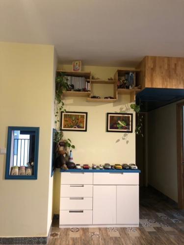 Phòng khách căn hộ VISTA VERDE Cho thuê căn hộ Vista Verde 2 phòng ngủ, diện tích 80m2, đầy đủ nội thất