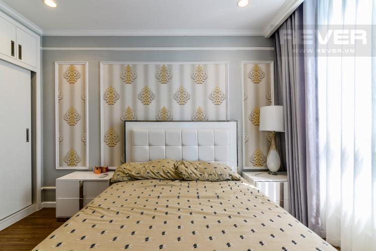 Phòng Ngủ 2 Căn hộ Vinhomes Central Park 3 phòng ngủ tầng trung C1 view sông
