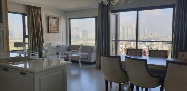 Căn hộ New City Thủ Thiêm 3 phòng ngủ view thành phố, Landmark 81.