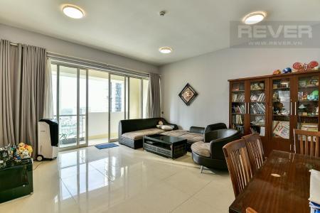 Cho thuê căn hộ The Estella Residence 2PN, tầng cao, diện tích 104m2, đầy đủ nội thất
