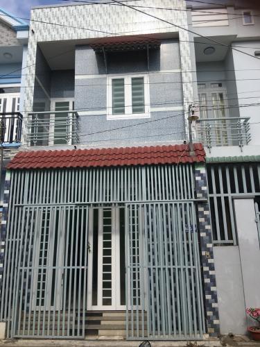 Bán nhà phố P. Long Bình, Q.9 diện tích 4.7m x 12.876m, sổ hồng rõ ràng