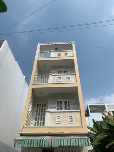 Bán nhà 3 tầng đường số 7, phường An Lạc, Bình Tân, sổ hồng chính chủ, cách Hồ Học Lãm khoảng 200m