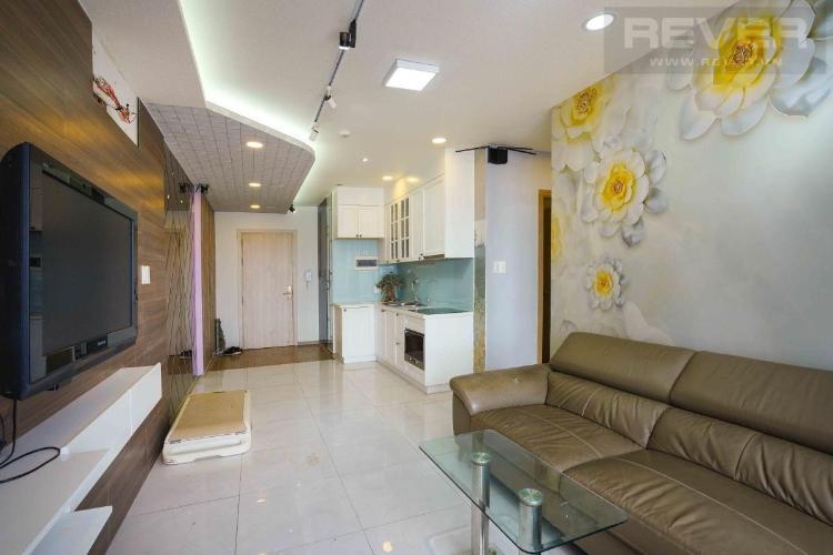 Cho thuê căn hộ Riva Park 2PN, diện tích 86m2, đầy đủ nội thất, view sông và Landmark 81
