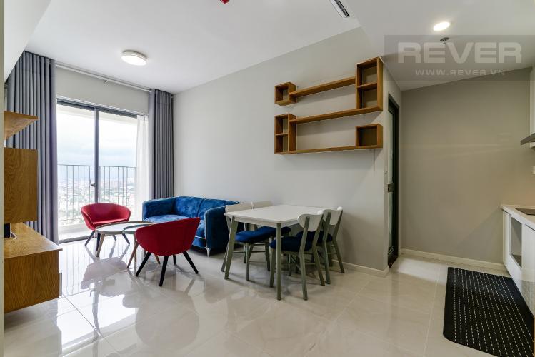 Phòng Khách Cho thuê căn hộ Masteri An Phú, tháp A, diện tích 70m2, đầy đủ nội thất, view sông thoáng đãng
