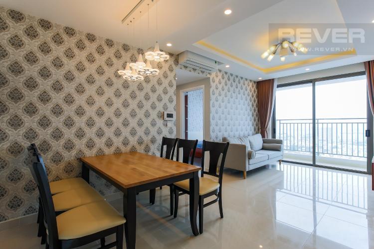 Bàn Ăn Căn hộ RiverGate Residence 3 phòng ngủ tầng cao tháp A hướng Tây Bắc