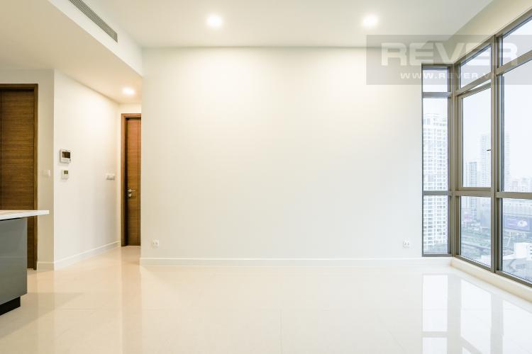Phòng Khách Và Lobby Bán căn hộ The Nassim Thảo Điền tầng cao, 1PN, view đẹp