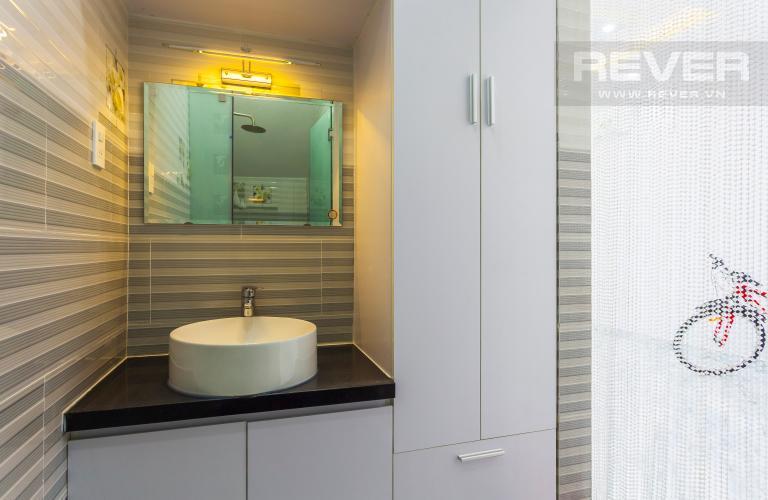 Phòng tắm 1 Nhà phố khu compound Mega Khang Điền Quận 9 nội thất đầy đủ