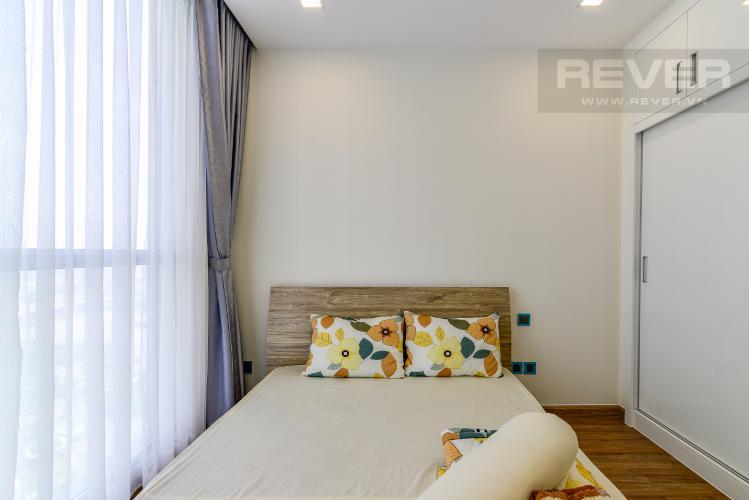 Phòng Ngủ 2 Căn hộ Vinhomes Central Park 2 phòng ngủ tầng cao P4 nội thất đầy đủ