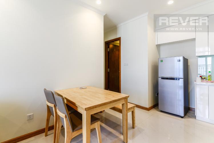 Phòng Ăn Căn hộ Vinhomes Central Park 2 phòng ngủ tầng cao C3 nội thất đầy đủ