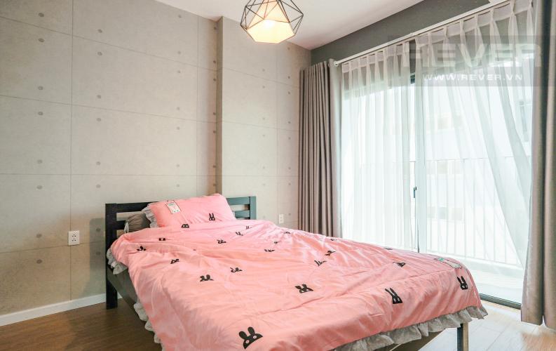 Phòng Ngủ 1 Căn hộ M-One Nam Sài Gòn tầng cao 3PN nội thất đầy đủ, có ban công
