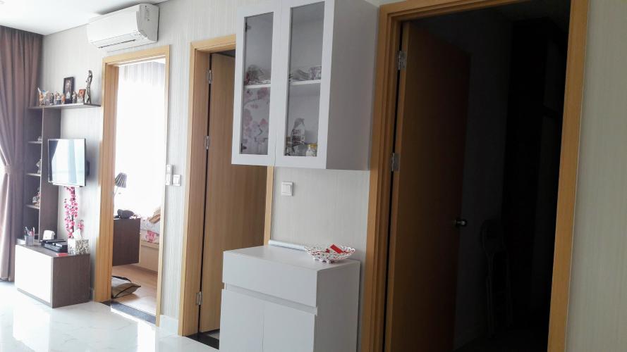 Cửa phòng ngủ căn hộ AN GIA RIVERSIDE Bán căn hộ An Gia Riverside đầy đủ nội thất tiện nghi.