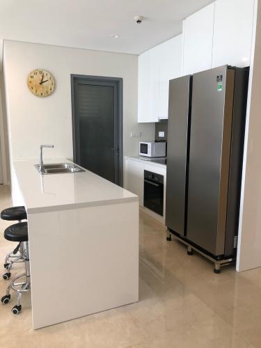 Phòng bếp Diamond Island Quận 2 Căn hộ Đảo Kim Cương nội thất đầy đủ, view nội khu.