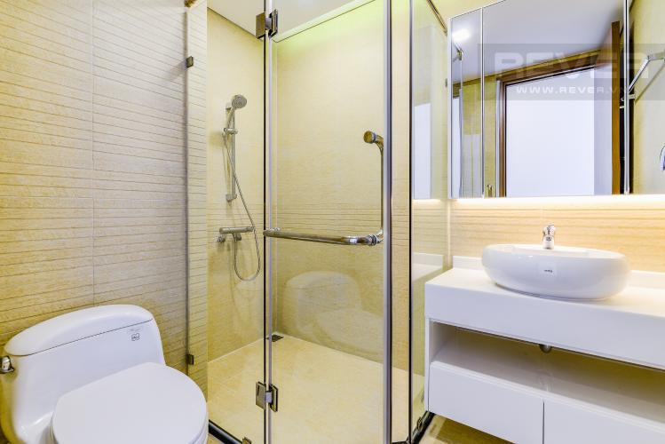 Phòng Tắm 2 Căn hộ Vinhomes Central Park tầng cao Park 5 nội thất cơ bản