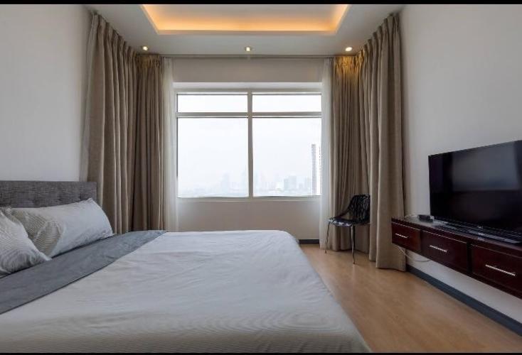Phòng ngủ Saigon Pearl Quận Bình Thạnh Căn hộ Saigon Pearl tầng cao, view thành phố.