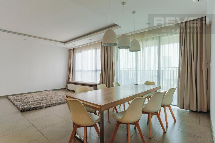 Phòng Khách Và Phòng Ăn Căn hộ The View Riviera Point tầng thấp 4 phòng ngủ, full nội thất