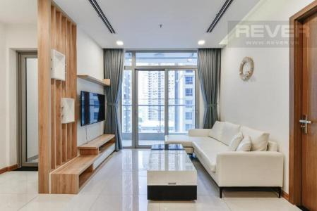 Bán căn hộ Vinhomes Central Park 2PN, diện tích 72m2, đầy đủ nội thất, view sông và công viên