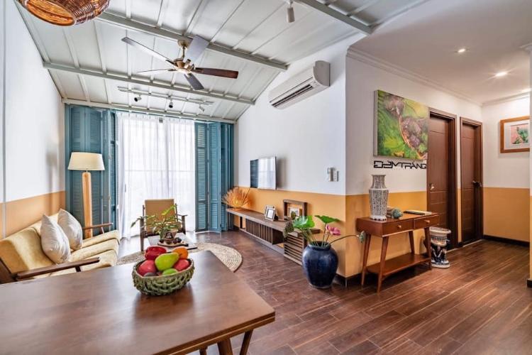 Cho thuê căn hộ Kingston Residence 2PN, tháp T1, đầy đủ nội thất, ban công hướng Đông thoáng mát