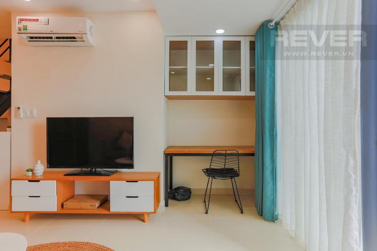 Phòng Làm Việc Căn hộ M-One Nam Sài Gòn 2 phòng ngủ tầng thấp T2 hướng Bắc