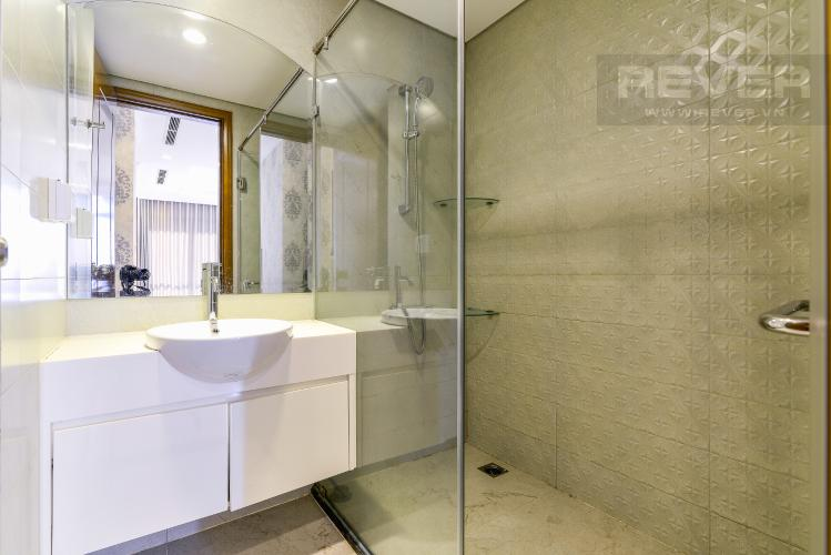 Phòng Tắm 1 Căn hộ Vinhomes Central Park tầng cao, tháp Landmark 3, 3PN, nội thất cơ bản