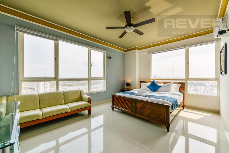 Phòng ngủ 2 Penthouse The Manor 4 phòng ngủ tầng cao AW nội thất đầy đủ