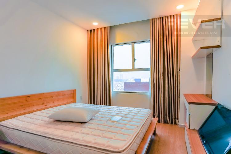 Phòng Ngủ Căn hộ Sunrise City 1 phòng ngủ tầng thấp X1 nội thất đơn giản