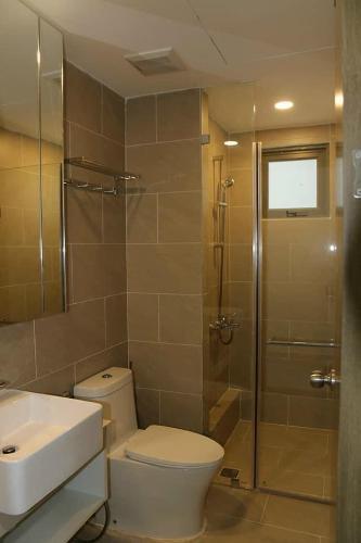Phòng tắm căn hộ River Panorama, Quận 7 Căn hộ tầng trung River Panorama view thành phố.
