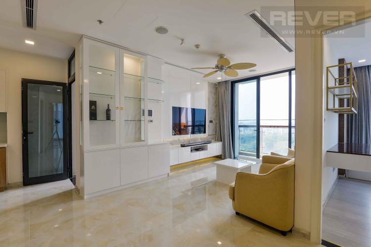 Phòng Khách Bán căn hộ Vinhomes Golden River 110.7m2 3PN 2WC, view sông, nội thất cao cấp