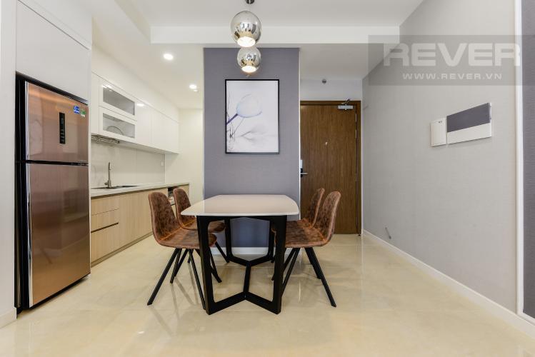 Bàn ăn Cho thuê căn hộ Masteri Millennium tầng cao 2PN đầy đủ nội thất view đẹp