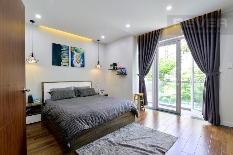 Phòng Ngủ Tầng 1 Cho thuê nhà phố 3 tầng, 4PN, đường Liên Phường, Q.9, đầy đủ nội thất, diện tích đất 90m2