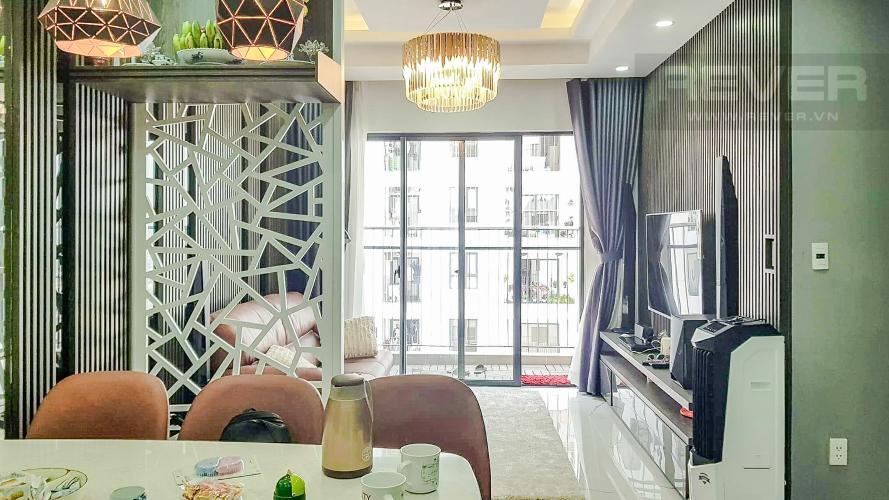 Phòng Khách Bán hoặc cho thuê căn hộ M-One Nam Sài Gòn, 77,71m2 3PN 2WC, đầy đủ nội thất