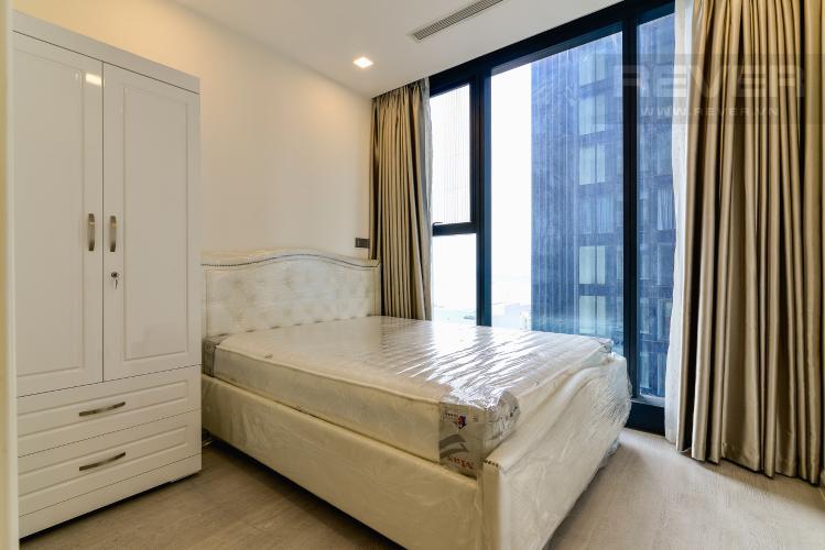 Phòng Ngủ 2 Căn hộ Vinhomes Golden River tầng trung, tháp The Aqua 3, 2PN, nội thất đầy đủ
