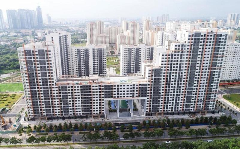 New City Thủ Thiêm Căn hộ New City Thủ Thiêm 3 phòng ngủ view nội khu yên tĩnh.