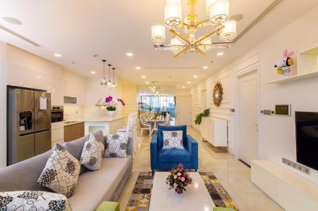 Bán hoặc cho thuê căn hộ Vinhomes Golden River 3PN, đầy đủ nội thất, view sông Sài Gòn và bán đảo Thủ Thiêm