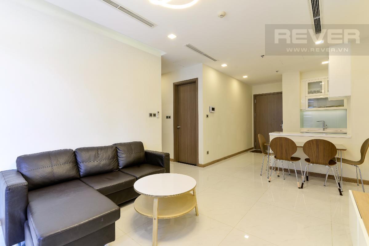_DSC4005 Bán căn hộ Vinhomes Central Park 2PN, tháp Park 5, đầy đủ nội thất, view sông và công viên xanh mát