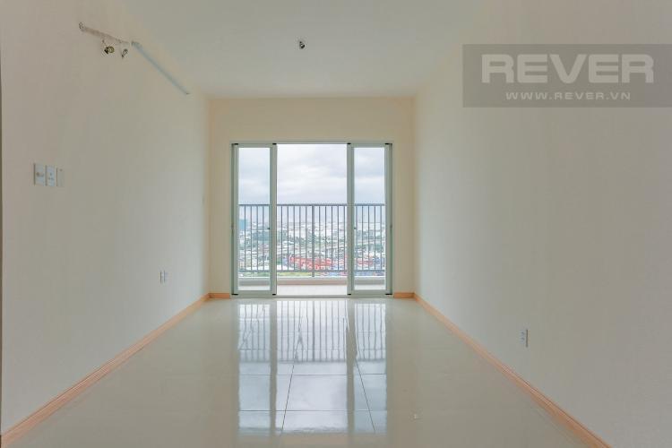 Phòng Khách Căn hộ Jamona City nằm ở tầng cao, tháp M1, 71m2, 2 phòng ngủ, view sông.