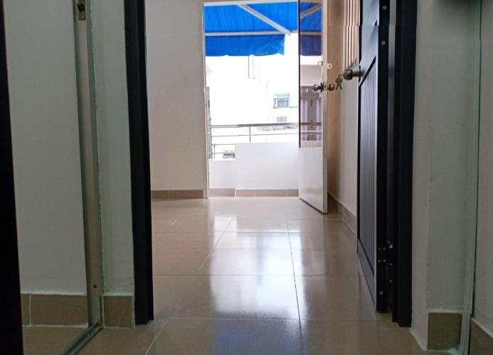 Phòng ngủ nhà phố Tôn Đản, Quận 4 Nhà phố quận 4 rộng 27.3m2, sổ hồng riêng, nội thất cơ bản.