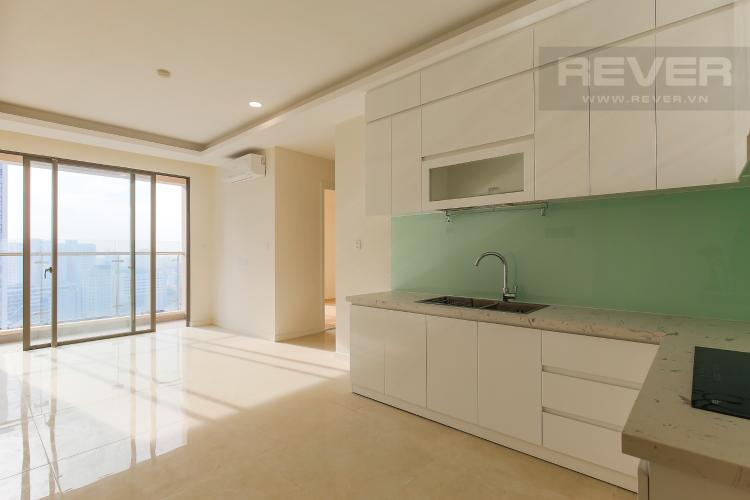 Phòng Bếp Căn hộ Masteri Millennium tầng cao view sông, 2PN, nội thất cơ bản