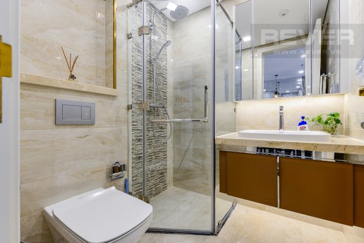 Phòng tắm Officetel Vinhomes Golden River 1 phòng ngủ tầng cao A1 view sông