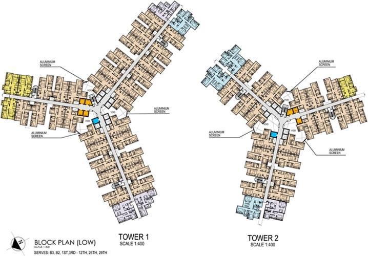 Layout tầng căn hộ Metro Star , Quận 9 Bán căn hộ Metro Star tầng 14 cửa hướng Đông, nội thất cơ bản.