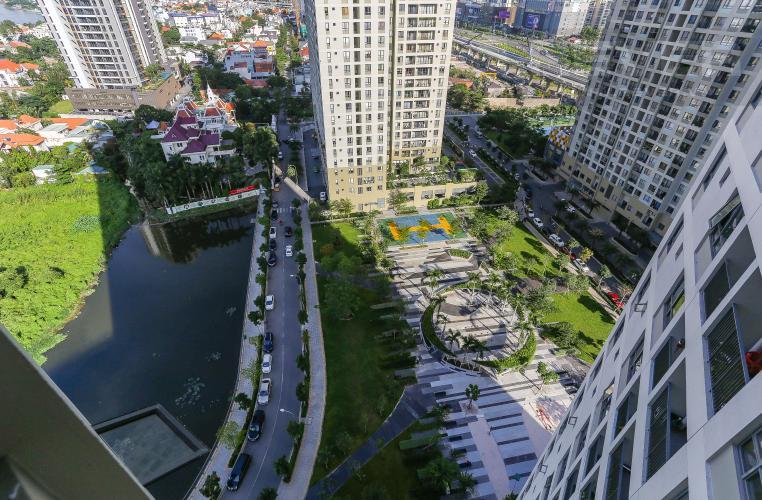View Căn hộ Masteri Thảo Điền tầng cao, 2PN nội thất đầy đủ